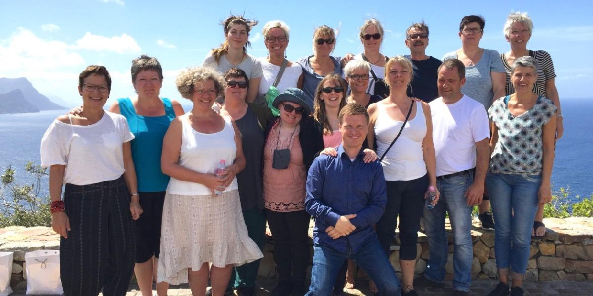 Gospelrejse Cape town Sydafrika - fælles foto udendørs