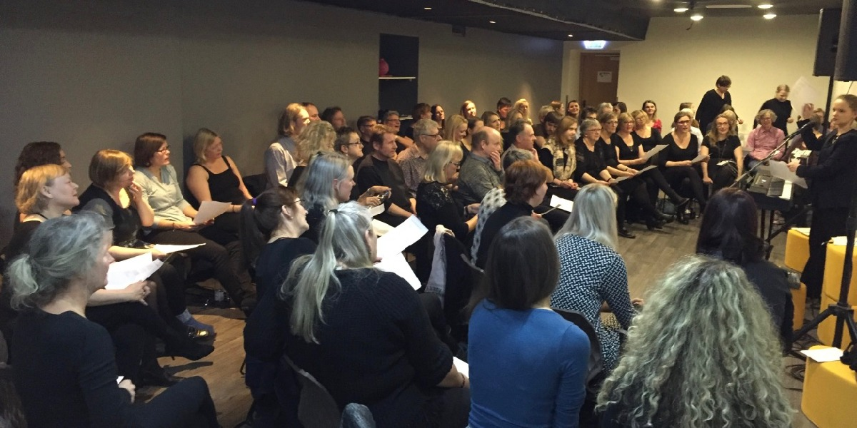 Gospelrejse Riga Letland - gospel sang