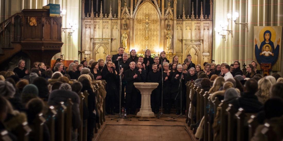 Gospelrejse Riga Letland - gospel i kirke