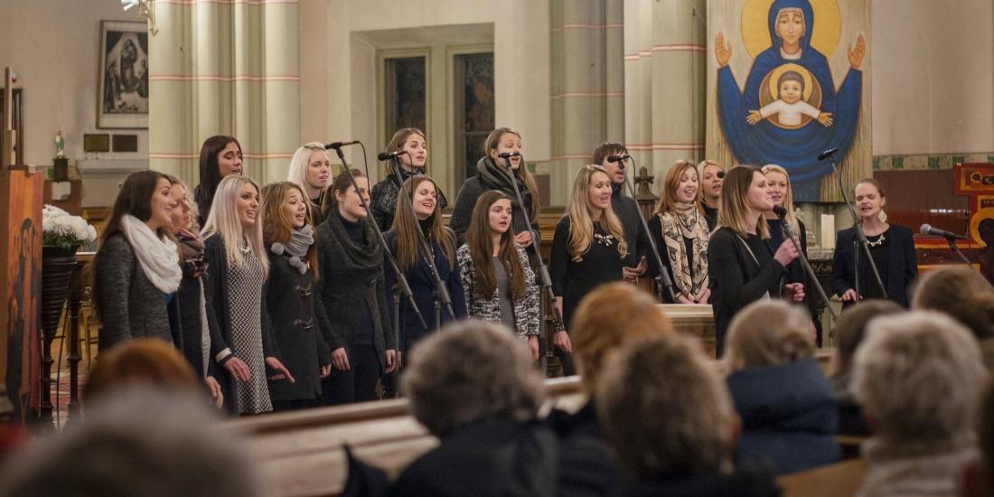 Gospelrejse Riga Letland - gospel i kirke 1