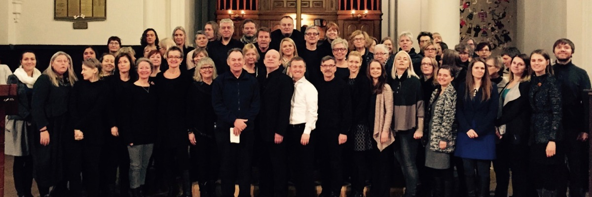 Gospelrejse Riga Letland - fællesfoto
